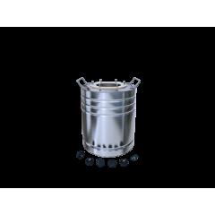 Бак матовый 12 литров с ребрами жесткости