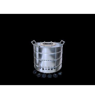 Бак матовый 15 литров с ребрами жесткости