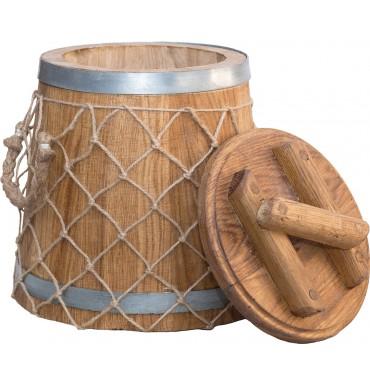 Кадка Премиум 12 л (кавказский дуб)