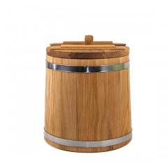 Кадка дубовая 10 л Оптима (Кавказский дуб)