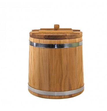 Кадка дубовая 10 л Оптима