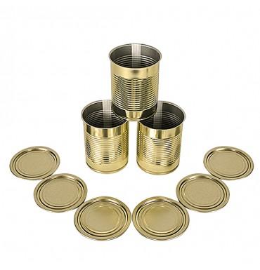 Набор консервных банок с крышкой (10 шт.)