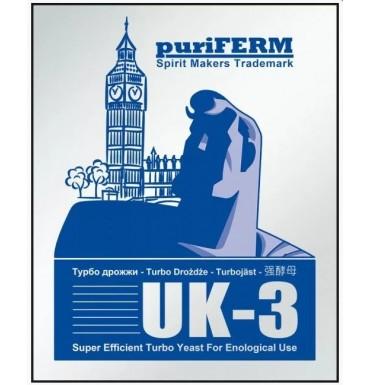 Турбо-дрожжи PuriFerm UK-3 Turbo, 112 г