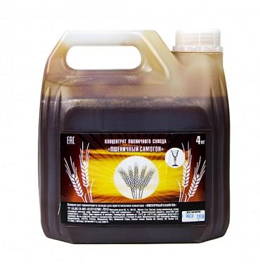 """Концентрат неохмеленный пшеничного солода """"Пшеничный дистиллят"""", 4 кг"""