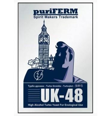 Турбо-дрожжи PuriFerm UK-48 Turbo, 128 г