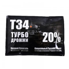 "Спиртовые дрожжи Alcotec ""Turbo T-34"", 155 г"