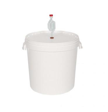 Емкость для брожения с гидрозатвором 33 л