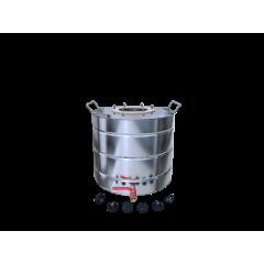 Бак матовый 20 литров с ребрами жесткости