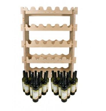 Комплект бутылок «Тоскана» 24 шт. + полка