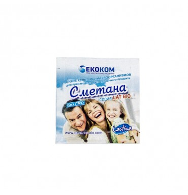 Закваска Сметана Lactina, 1 гр