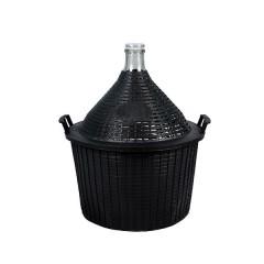 Бутыль в пластиковой корзине 25 л