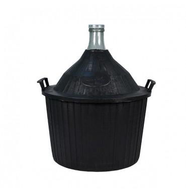 Бутыль в пластиковой корзине 54 л