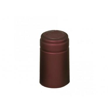 Термоусадочный колпачок бордовый (50 шт.)