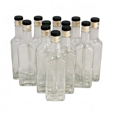 Комплект бутылок «Ива» 0,25 л (12 шт.)