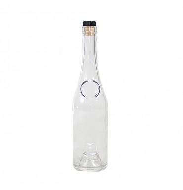 Бутылка коньячная с пробкой 0,5 л