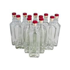 Комплект бутылок «Сияние» с крышкой 0,5 л (12 шт.)