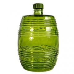 Бутыль Бариле, зеленое стекло, 10 л