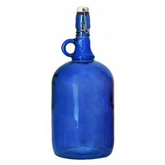 Бутылка «Венеция» 2 л, синяя