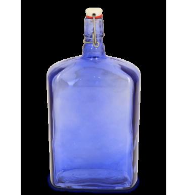 Бутылка «Викинг» 1,75 л, синяя